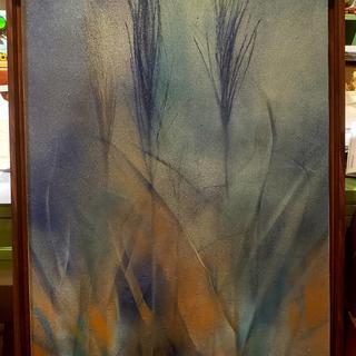 Walnut Canvas Floater Frame