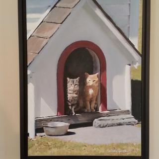Great quality frame for my oil painting. I definitely will buy this frame for my other paintings.