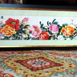 Hand-embroidered Vietnamese tapestry