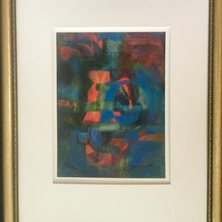 Frame was in perfect harmony with the rhythm of the painting.