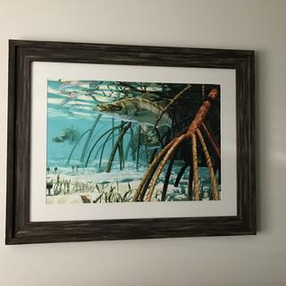 The frame I purchased was perfect! I love the finished product!