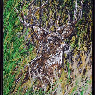 """Perfect frame for my new painting """"Majestic Symmetry"""". Kirk Green - Artist"""