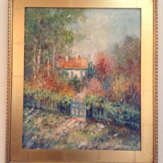 The Plein Air frames are the perfect warm gold that I wanted for this piece and at a great price!