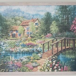 Beautiful frame for this puzzle