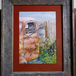 """Under 2 Ton"" - original watercolor by Kathleen Arvila-Scott"