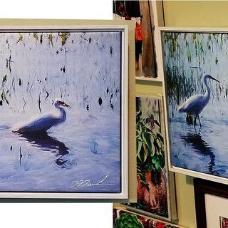 Framed Egrets