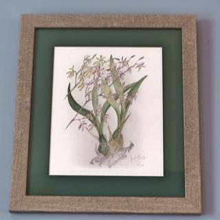 This is one of 3 frames I purchased.  The frames compliment the 3 prints perfectly!