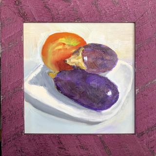 Great quality and color!  It really makes the eggplants in my still life pop!