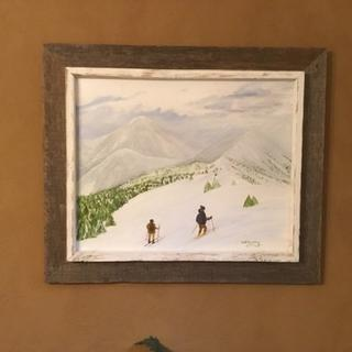 Nice frame for outdoor painting