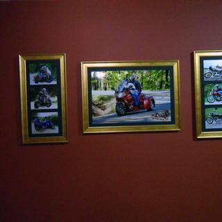 Three G7 frames in home
