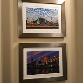 Cleveland prints displayed with pride