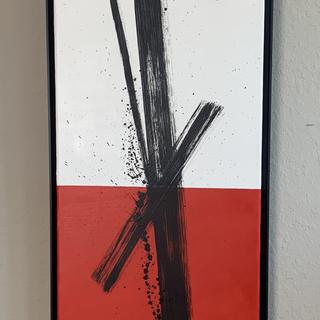 Ronin 12x36 oil on canvas by Renee Bitinas Fine Art