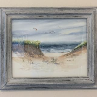 Perfect for this Cape Cod beach scene