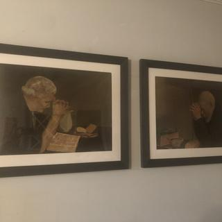Updated old artwork my grandparents had. Frames were easy to order and look great!