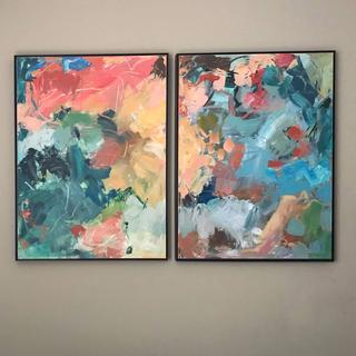 Floater Canvas Framed Artwork