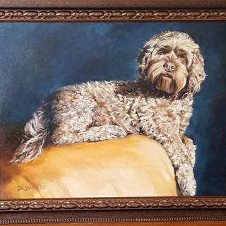 The perfect frame for a dog whose name is Cocoa