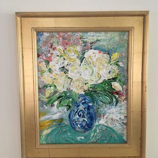 Original artwork works beautifully in frame.