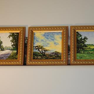 small 6x6's in this frame.