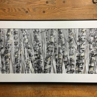 Watercolor by Jake Marshall, Overland Park, KS. (111MLBK frame with non-glare acrylic glazing.)