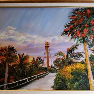 """Lighthouse at Sanibel, Fla."