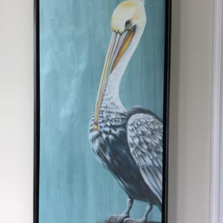 This frame really enhanced my pelican canvas picture.  The frame is very nice quality.