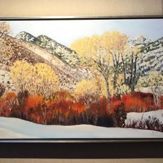 Sun Valley Oil Painting