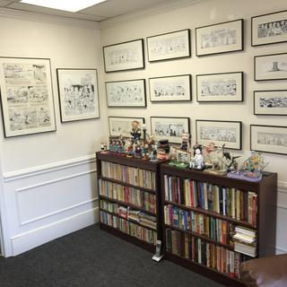 My comic strip gallery worked out well with your frames.