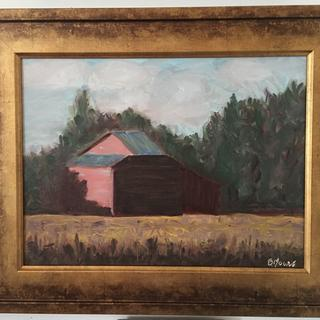 Perfect frame for my barn painting!- Betsy Moore
