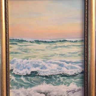"""""""Morning Tide"""" 9x12 original acrylic painting by Diana Vincent"""