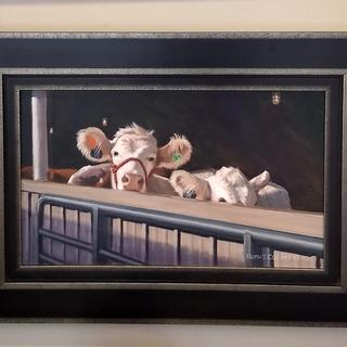 """County Fair Pair"" by Ruth S. Collins. This frame (WX540) was the perfect addition!"