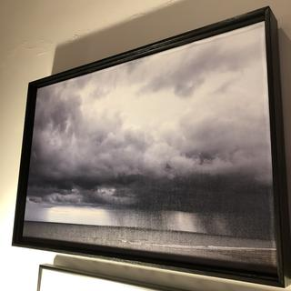 Canvas print frame