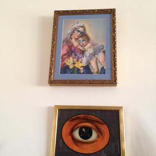 Upper frame is from  picture frames .com