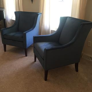 I love my new chairs and they look great in my living room.