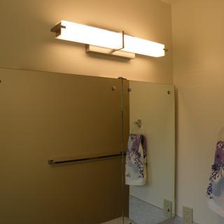 Kichler Zel 25 3/4 in Brushed Nickel Linear LED Bath Light