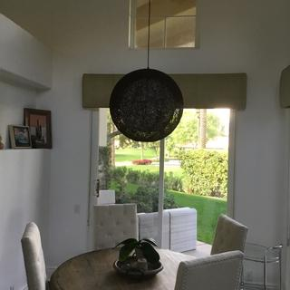 Five stars. Super easy install. Lightweight. Gave our dining nook a modern look