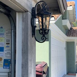 Casa Marseille™ 21 1/2 inch High Bronze Outdoor Wall Light