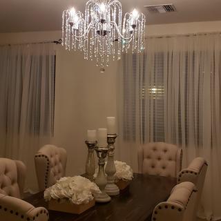Love my new chandelier ?