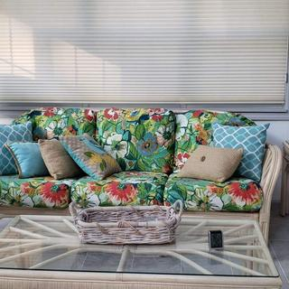 I bought these for my mother, as she recently redecorated her sunroom - she absolutely loves them!