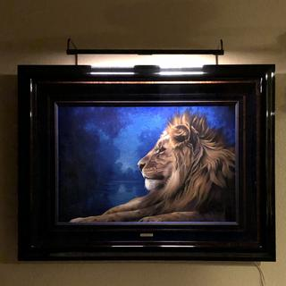 House of Troy Slim-Line 29 inch Wide Rubbed Bronze LED Picture Light