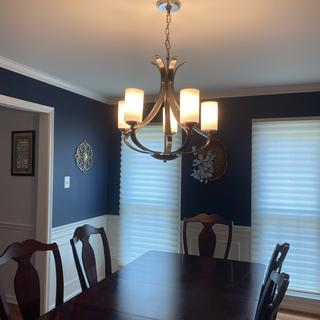 Installed in my dining room. Looks great.