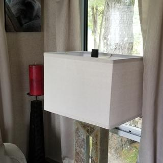 Lovely addition to our home. Perfect lamp and excellent design and quality.