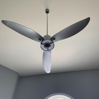 I love this ceiling fan lamp combo