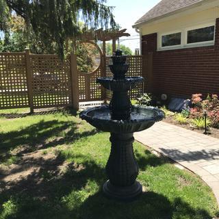 Love this fountain!
