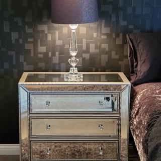 We are exceptionally happy with this purchase!  We bought 2 to use as night stands.