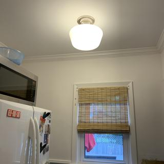 Renovating my kitchen and this fixture works great