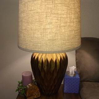 Classy Bronze Lamp