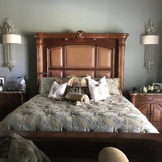 Bedroom adds elegence