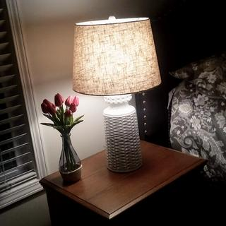 I bought 2 lamps for each of my bedroom night stands and I absolutely love them. Going to order more