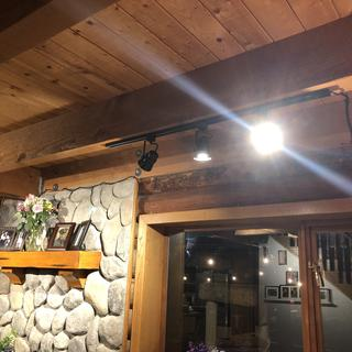 When you have wooden ceilings with no wiring in your log cabin, these are an amazing find.