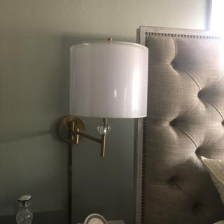 Lamp up!  Love it